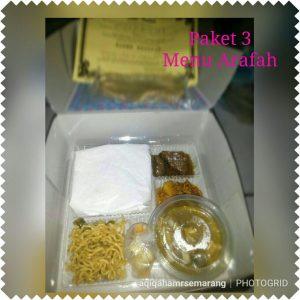 3. Menu Arafah Semarang