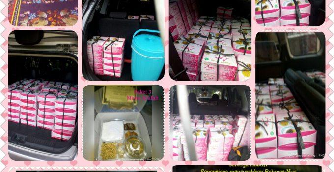 "Paket 3 ""Paket Nasi Box Aqiqah Semarang"