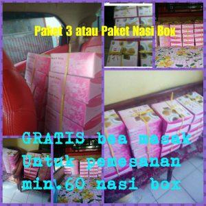 "PAKET 3 ""Paket Nasi Box Aqiqah Murah Semarang"""