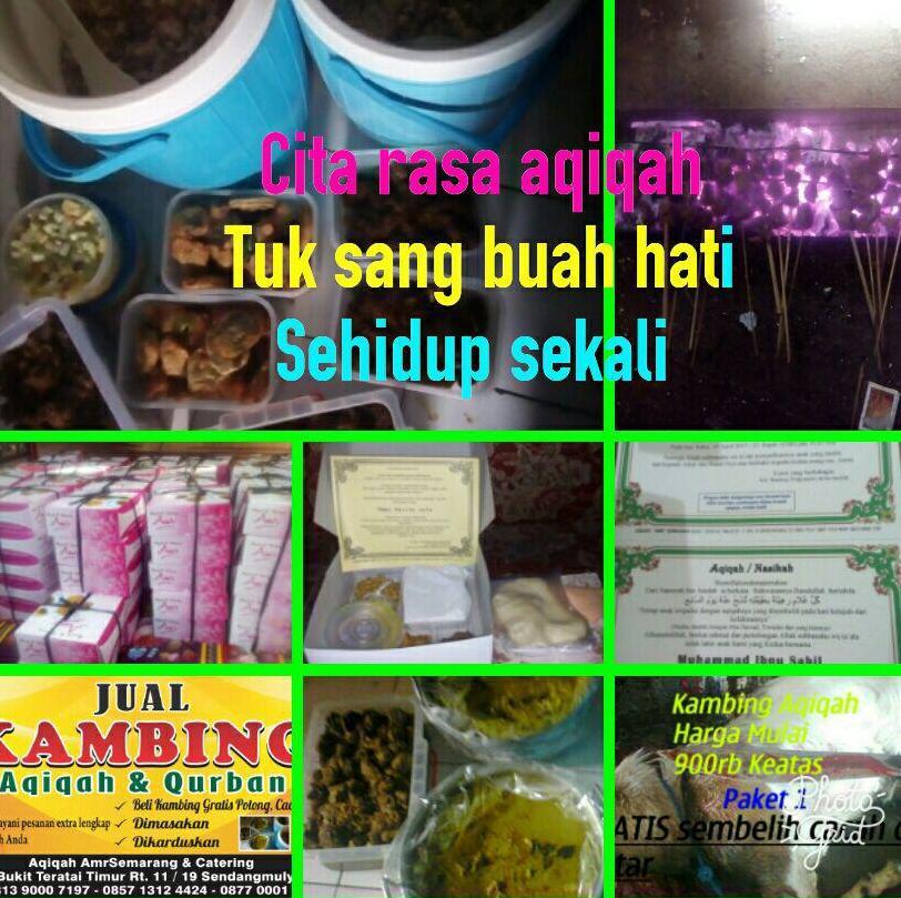 Paket Aqiqah Semarang Tahun 2020