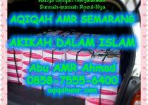 hukum akikah atau hukum aqiqah dan qurban aqiqah semarang jawa tengah